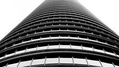 Fifth Street Towers (jbarry5) Tags: travel blackandwhite abstract monochrome geometry minneapolis downtownminneapolis travelphotography fifthstreettowers minneapolisarchitecture fifthstreettowersminneapolis