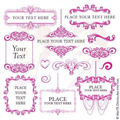 Complete set in Fuschia Pink #Fuschia #chandelier #style #frame #crafty #projects #wedding #businessuse https://goo.gl/WK1wuX (maypldigitalart) Tags: wedding style fuschia chandelier frame projects crafty businessuse