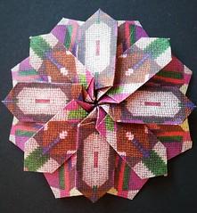 Octagonal star (modular.dodecahedron) Tags: origamistar tomokofuse