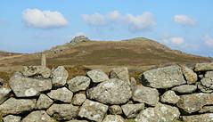 Dartmoor Stone Wall! ('cosmicgirl1960' NEW CANON CAMERA) Tags: blue sky white green stone clouds devon moors bracken walls dartmoor yabbadabbadoo