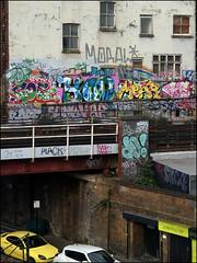 Cos, Yan, Mear, Babe, Dowt, Paces, Moral... (Alex Ellison) Tags: urban graffiti boobs railway babe yan roller graff ac gs southlondon cos brixton cosa moral trackside dds allcity paces fdc ktc mear osv dfn dowt dowta gullyside
