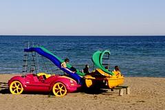 Tarde de playa (camus agp) Tags: espaa mar juegos playa canoneos marbella marmediterraneo hidropedales