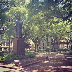 John Wesley monument in Johnson Square (peachy92) Tags: xproii iphone iphonegraphy iphoneography downtownsavannah chatham chathamcountygeorgia savannah reynoldssquare chathamcountyga chathamcounty 2016 ga us georgia unitedstates usa unitedstatesofamerica savannahgeorgia savannahga square instagram instagramapp unitedmethodistchurch umc methodist christianity methodism johnwesley wesley iphone6