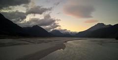 Dart River (Explored 22 Apr 2016) (PalmyLisa) Tags: morning newzealand fog river early ducks queenstown benlomond dart lakewakatipu mokelake
