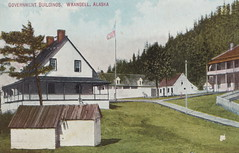 US AK Wrangell AK 1912 GOLD Logging and Commercial Fishing beginnings here after US purchase from Russia in 1868 a US military post was established and a new fort was built in Wrangell1 (UpNorth Memories - Donald (Don) Harrison) Tags: travel usa heritage history tourism st vintage antique michigan postcard memories restaurants hotels trailer roadside upnorth steamship cafes excursion attractions motels mackinac cottages cabins campgrounds city bridge island car upnorthmemories rppc wonders big railroad michigan memories mac state parks entertainment natural harrison roadside ferry travel don tourist mackinaw stops upnorth straits ignace