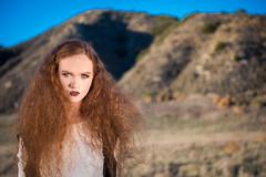 Dai Le_ Editorial (DiNatale Photography) Tags: county orange fashion makeup style editorial couture
