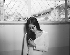 Untitled-(4) (  LinKH ) Tags: 120 film girl takumar kodak taiwan taipei smc 105mm pentax67 tx400 105mmf24