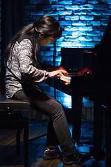 Satoko Fujii live at Cortez, Mito (Japan), 28 Apr 2016 -1000033 (megumi_manzaki) Tags: musician piano jazz improvisation pianist freejazz