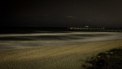 After Midnight (dans eye) Tags: beach stars star pier flickr florida midnight fl starrynights junobeachpier starstudies