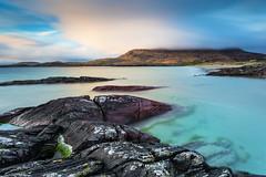 Beautiful Connemara (Sigita JP) Tags: blue ireland seascape evening westcoast theview westofireland wildsea wildatlanticway