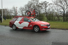 KATUSHA Team Car (Steve Dawson.) Tags: uk england cars bike race canon eos is kat yorkshire cycle april service usm ef28135mm 93 87 29th mavic 158 breakaway neutral 2016 mgt f3556 50d ef28135mmf3556isusm katusha canoneos50d mathewcronshaw madisongenesis tourdeyorkshire nilspolitt jenswallays harswell