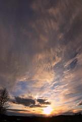 2016_0425Sunset-Pano0007 (maineman152 (Lou)) Tags: sunset sky panorama cloud sun nature clouds skyscape landscape cloudy maine april sundog cloudysky skyview naturephotography skyscene landscapephotography naturephoto skycolor skycolors springsky skydrama landscapephoto