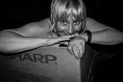 119/365 What's in the box? (NSJW photos) Tags: people me smile naked box sharp april 119 selfie 2016 119365 365selfies nsjwphotos 1193652016