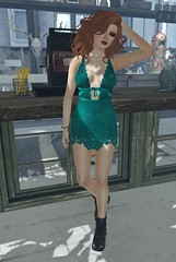 Party girl (Saffron Foxclaw) Tags: roc truth sale secondlife flf 1l 5l 100l 50l glamorize secondlifefashion secondlifeblog secondlifeclothes iheartsl somethingfrench pixicat fiftylindenfridays iheartslfeed roc99l