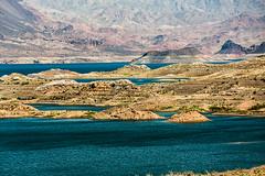 Lake Mead (wyojones) Tags: arizona mountains islands desert nevada reservoir hooverdam lakemead coloradoriver np sunsetpoint nationalparksystem wyojones lakemeadnationalrcreationarea