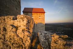 Castle and rocks (Bernhard_Thum) Tags: sunset franken sunsetlight hohenstein thum leicam elitephotography landscapesdreams burghohenstein distagont2815 bernhardthum distagon1528zm