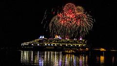 QM2-1 (James.Girard) Tags: 2 night boat nikon ship fireworks queen merry southampton tamron f28 cruse hythe 1875mm