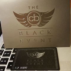 CB Black Event. Did you make the cut?