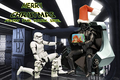Merry Christmas (_Galle_) Tags: madrid christmas espaa trooper miguel angel soldier photography star navidad photo starwars spain foto photographer lego fiestas guerra noel lord gift darth empire jedi stormtrooper imperial knight papa anakin kit postal wars vader merry fotografia darthvader galle merrychristmas injection regalo sith fotgrafo soldado galaxia caballero bandai skywalker fotografo fotografa felices navity anakinskywalker gallego lordvader imperio navidea miguelagallego miguelgallego miguelangelgallego