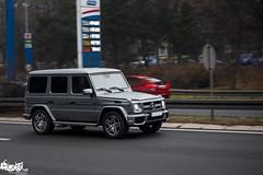 Mercedes-Benz G 63 AMG. (Stefan Sobot) Tags: road car race silver grey mercedes benz nikon g serbia fast off 63 exotic belgrade luxury rare beograd supercar matte amg srbija d600