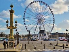 La grande roue Paris (Grandgi) Tags: paris france lumix grande place panasonic compact visite tourisme roue obelisque tz71 dmctz71 candelabrfe
