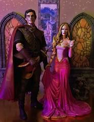 Once Upon  a Dream (MaxxieJames) Tags: sleeping beauty rose toys dolls dragon princess action ooak prince disney aurora figure phillip custom figures briar maleficent