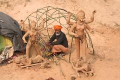 Kali and Shiva (brightasafig) Tags: india atheism kali shiva hinduism bengal baul humanism devata