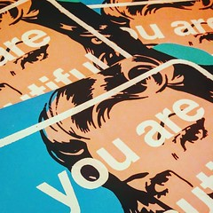 JAKE LEE (billy craven) Tags: youarebeautiful streetartchicago stickergame galerief yabsticker