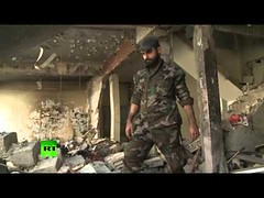 Ruins to rubble: Moment & aftermath of devastating blast in Syria's Homs (thenewsvideos) Tags: aftermath ruins amp moment blast rubble homs syrias devastating