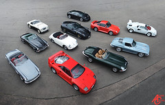 Universal Classic Cars (AdamC3046) Tags: chevrolet austin mercedes benz ss ferrari porsche e mercedesbenz type gto gt bugatti corvette lamborghini healey 250 countach 300sl etype c3 f40 supersport 959 599 eb110