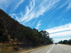 On The Federal Highway (Kaptain Kobold) Tags: road blue sky clouds highway driving australia nsw canberra kaptainkobold