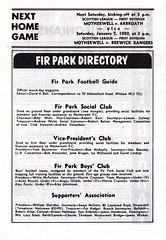 Motherwell vs Airdrieonians - 1979 - Page 14 (The Sky Strikers) Tags: park football scottish first lucky fir guide division league motherwell programme airdrie airdrieonians