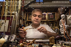 "Istanbul // Turkey - ""The Collector"" (-Cabanaboy-) Tags: street turkey nikon market antique streetphotography istanbul jewellery d750 turkish collector jewel trinket grandbazaar kapalar bykar"