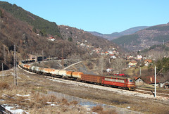 Oil in the Mountain (Krali Mirko) Tags: railroad electric train railway cargo bulgaria locomotive thompson freight 43 skoda 548  bdz   43548   bdzcargo