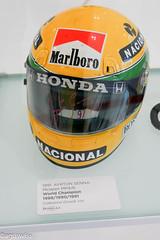 Ayrton Senna 1991 McLaren MP4/6 (aguswiss1) Tags: senna ayrtonsenna f1 mclaren icon worldcampion helmet racing museoferrari carracing honda