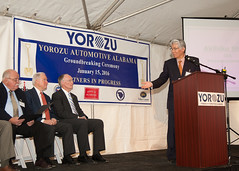 01-15-2016 Yorozu Automotive Alabama Groundbreaking