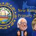 New Hampshire Primary Bernie Sanders vs. Hillary Clinton - Caricatures
