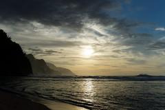 DSC02793_DxO_Größenänderung (Jan Dunzweiler) Tags: sunset beach strand hawaii sonnenuntergang sundown jan cliffs kauai napali kee klippen keebeach napalicliffs ke´ebeach dunzweiler ke´e napaliklippen jandunzweiler