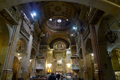 P1240889-P40 (everbruin) Tags: barcelona church architecture spain interior baslica merc