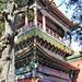Le pavillon du Printemps éternel dans le jardin impérial (Beijing, Chine)