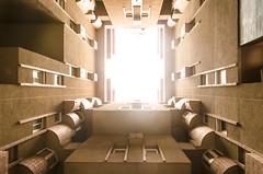 Walden I (Laura Ligari) Tags: barcelona geometric architecture design nikon interior walden architettura bofill ricardobofill walden7 d7000 arcquitecto