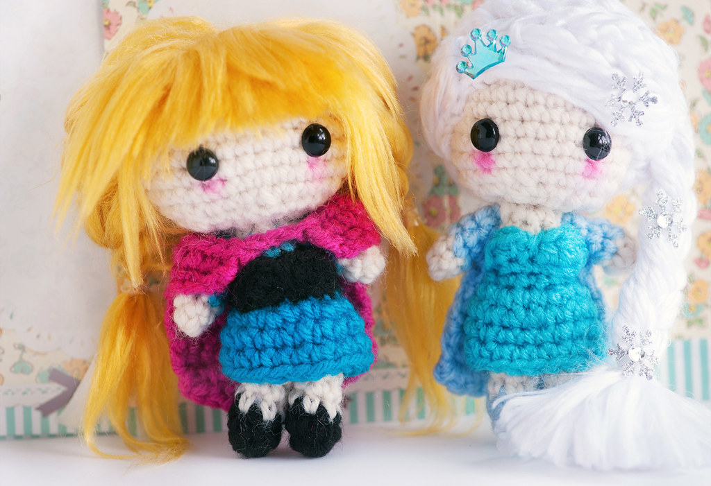 Amigurumi Elsa Y Ana : The Worlds most recently posted photos of amigurumi and ...