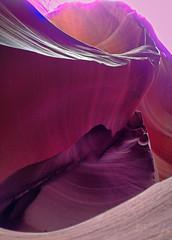 Lower Antelope Canyon, AZ (christinathomas@att.net) Tags: arizona clouds landscape sandstone colorful driving desert cloudy stormy lakepowell slotcanyon navajotribalpark flashfloods pageaz natture thecorkscrew lowerantelopecanyon pageazusa