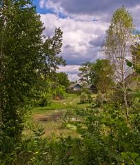 Rural landscape (kud4ipad) Tags: sky cloud nature landscape outdoors ukraine   2013 prokhorovka