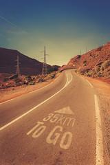 Road to Agadir (khldooon) Tags: road nature photoshop montagne canon landscape post agadir mount route morocco maroc processing marrakech paysage retouch bitume lightroom goudron