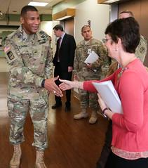 BG Patrick Sargent Meets Madigan's Palliative Care Team (Madigan Army Medical Center) Tags: madigan mamc regionalhealthcommandpacific bgsargent