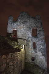 Castle & FRN (martinosperatus) Tags: castle nature night photography photos sony slovensko slovakia priroda divin schot nightfoto sonya7 ilce7 sonyilce fe28mm2f