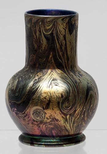 Tiffany Damascene Styled Favrile Vase  $12,100.00