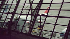 Airbus A340-300 (HB-JMG) at PVG Pudong Airport - Swiss (Matt@PEK) Tags: airport swiss airbus pudong lx staralliance pvg a343 hbjmg