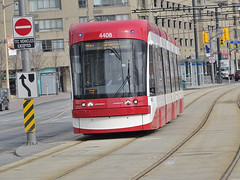 TTC 4408 Flexity Outlook LRV By Bombardier Built 2015 LRV Westbound On Queens Quay W ROW Route 510 (drum118) Tags: tram streetcar trolleycar lightrailvehicle torontophoto route510 bombardierflexityoutlook transitttc ontariophoto ttcstreetcarfleet onqueensquaywrow ttcflexityoutlookfleet built2015 ttc4408flexityoutlooklrv lrvwestbound